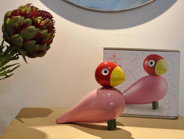 Kay Bojesen Songbird rosa
